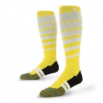 Stance Moto Groove Socks Yellow