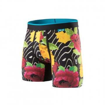 Stance Marble Flowers Wholester Boxer Black