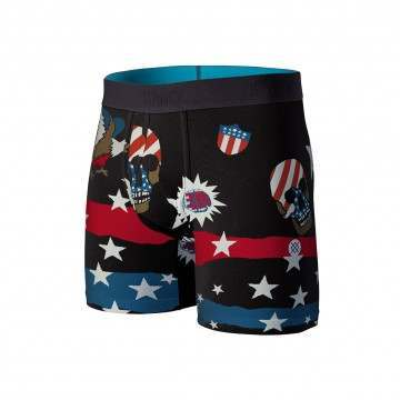 Stance Freedom Strike Wholester Boxers Black