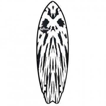 Softech Mason Twin Soft Surfboard 5FT 10 GunBlack
