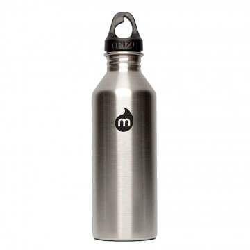 Mizu M8 Water Bottle Stainless/Black Print