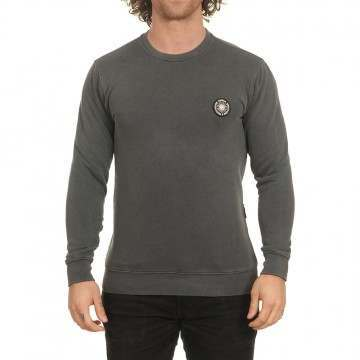 Vissla Solid Sets Crew Dark Grey