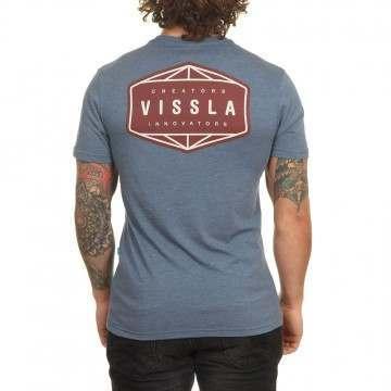 Vissla Otherside Tee Strong Blue