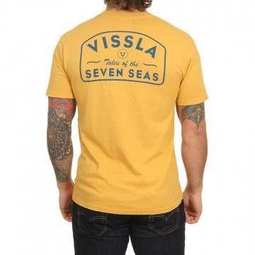Vissla Plain Sailing Tee Golden Hour