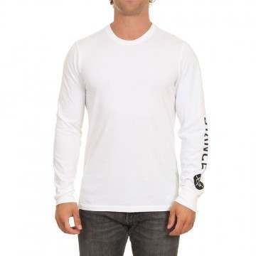 Stance Basis Long Sleeve Top White