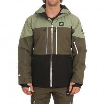 Picture Object Snow Jacket Dark Army Green