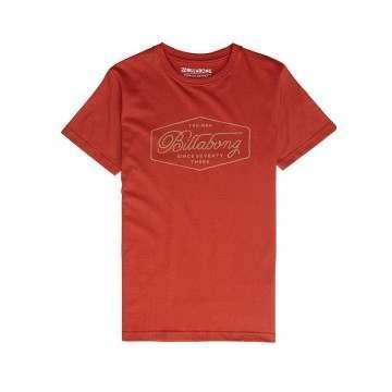 Billabong Trademark Tee Rustic Red