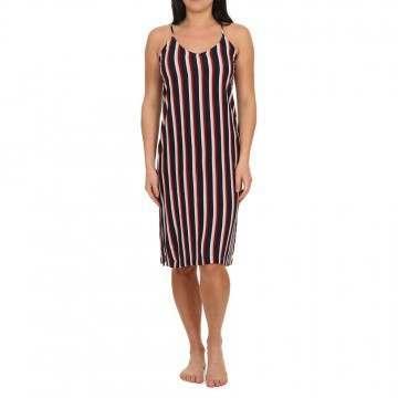 Element Bobby Dress Indigo Stripes
