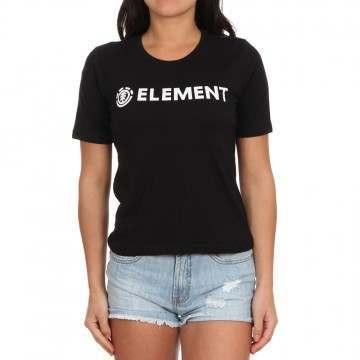 Element Logo Tee Black