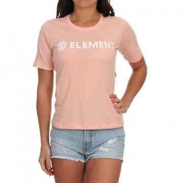 Element Logo Tee Peach
