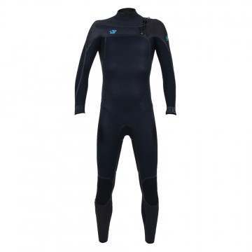 ONeill Youth Psycho One 5/4 FZ Wetsuit Abyss