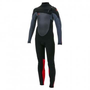 ONeill Youth Epic 4/3 FZ Wetsuit Graphite