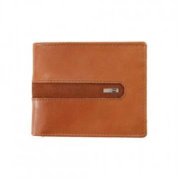 Billabong DBah Leather Wallet Tan