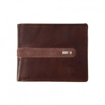 Billabong DBah Leather Wallet Chocolate