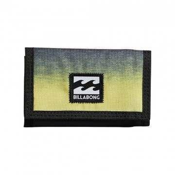 Billabong Atom Wallet Neon Yellow