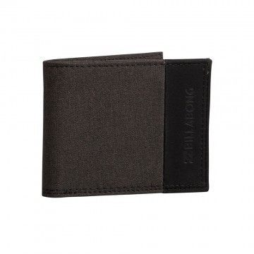 Billabong All Day Wallet Black Heather