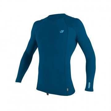 ONeill Premium Skins Long Sleeve Rash Vest Blue