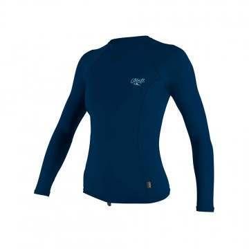 ONeill Womens Premium Long Sleeve Vest Abyss