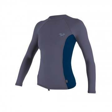 ONeill Ladies Premium Long Sleeve Rash Vest Dusk