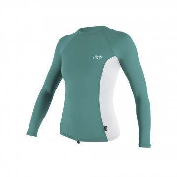 ONeill Ladies Premium Long Sleeve Rash Vest Euca