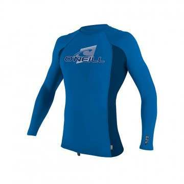 ONeill Youth Premium Long Sleve Rash Vest Ocean