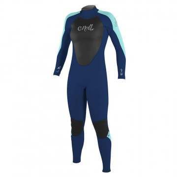 ONeill Womens Epic 3/2 Back Zip Wetsuit Navy