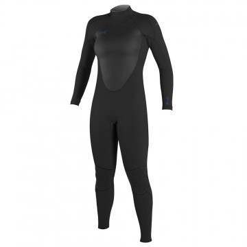 ONeill Womens Epic 4/3 Back Zip Wetsuit Black