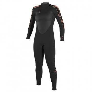 ONeill Womens Epic 5/4 Back Zip Wetsuit Flo