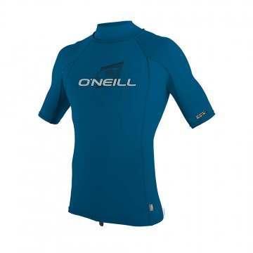 ONeill Premium Skins Turtleneck Rash Vest Blue