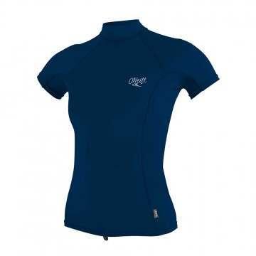 ONeill Womens Premium Turtleneck Rash Vest Abys