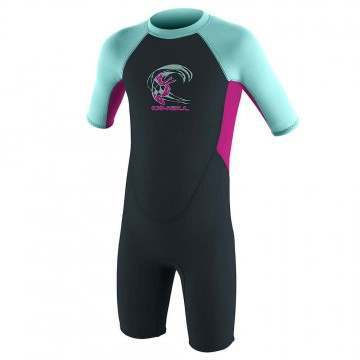 ONeill Toddler Reactor 2mm Shorty Wetsuit Berry