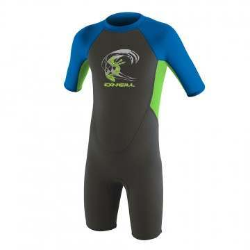 ONeill Toddler Reactor 2mm Shorty Wetsuit Graphite