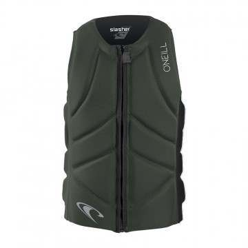 ONeill Slasher Comp Impact Wakeboard Vest Olive