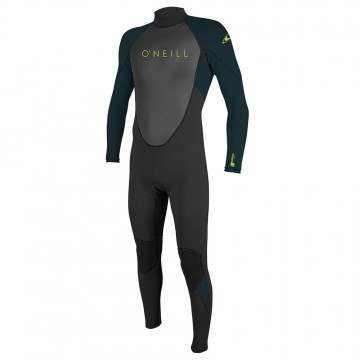 ONeill Youth Reactor 2 3/2 Full Wetsuit Blk/Slt