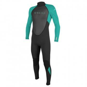 ONeill Youth Reactor 2 3/2 Full Wetsuit Blk/Aqu