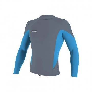 ONeill Hyperfreak 0.5MM Long Sleeve Wetsuit Top Blue