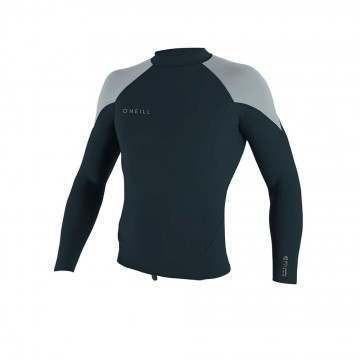 ONeill Reactor 2 Long Sleeve Neoprene Top Grey