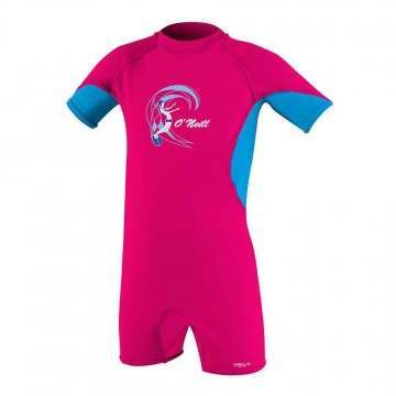 ONeill Toddler Ozone UV SPF Sunsuit Watermelon