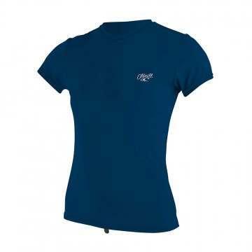 ONeill Ladies Premium Skins UV Rash Tee Abyss