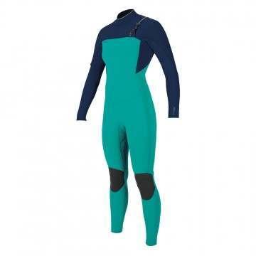 Oneill Womens Hyperfreak 3/2+ FZ Wetsuit Capri
