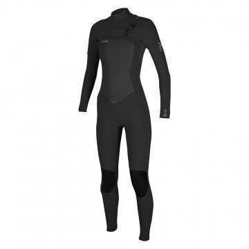 Oneill Womens Epic 4/3 FZ Wetsuit Black