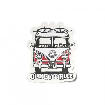 Old Guys Rule Good Vibes Air Freshner Red Van