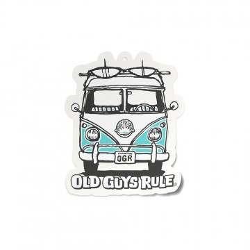 Old Guys Rule Good Vibes Air Freshner Turquoise