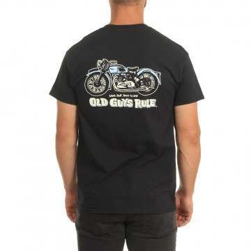Old Guys Rule Triumph Tee Black