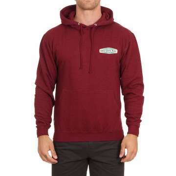 Old Guys Rule Aged To Perfection 2 Hoody Burgundy