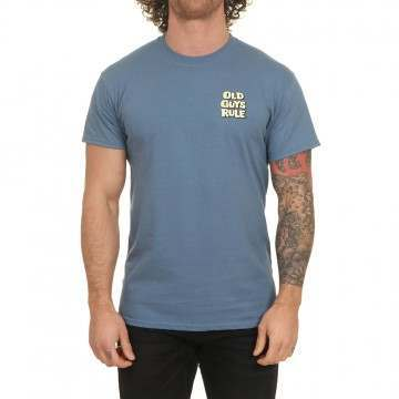 Old Guys Rule Home Brew Tee Indigo Blue