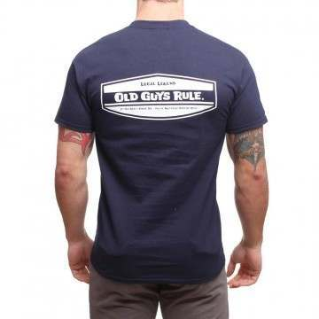 OLD GUYS RULE LOCAL LEGEND TEE Navy