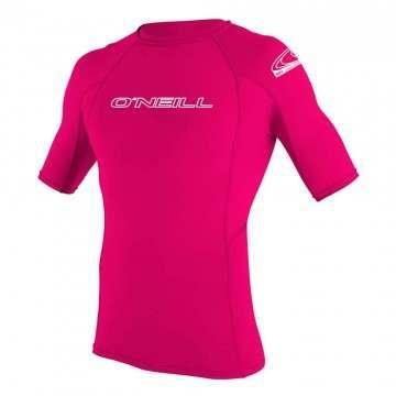 ONeill Youth Basic Skins Short Sleeve Rashvest Mel