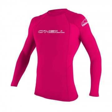 ONeill Youth Basic Skins Long Sleeve Rashvest Melo
