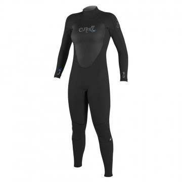 ONeill Womens Epic BZ 4/3 GBS Wetsuit Black
